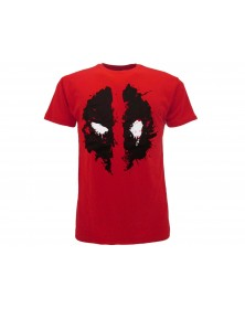 T-Shirt DeadPool Maschera (M)