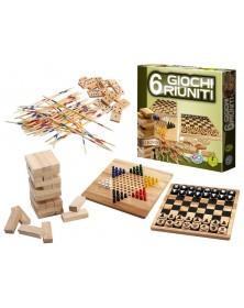 6 Giochi Riuniti in legno