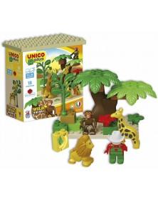 Unico Plus - Safari 18 pezzi