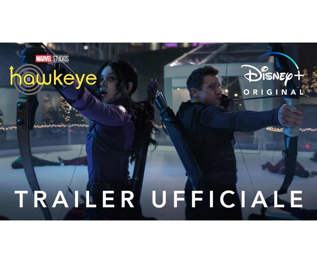 Il trailer di Hawkeye
