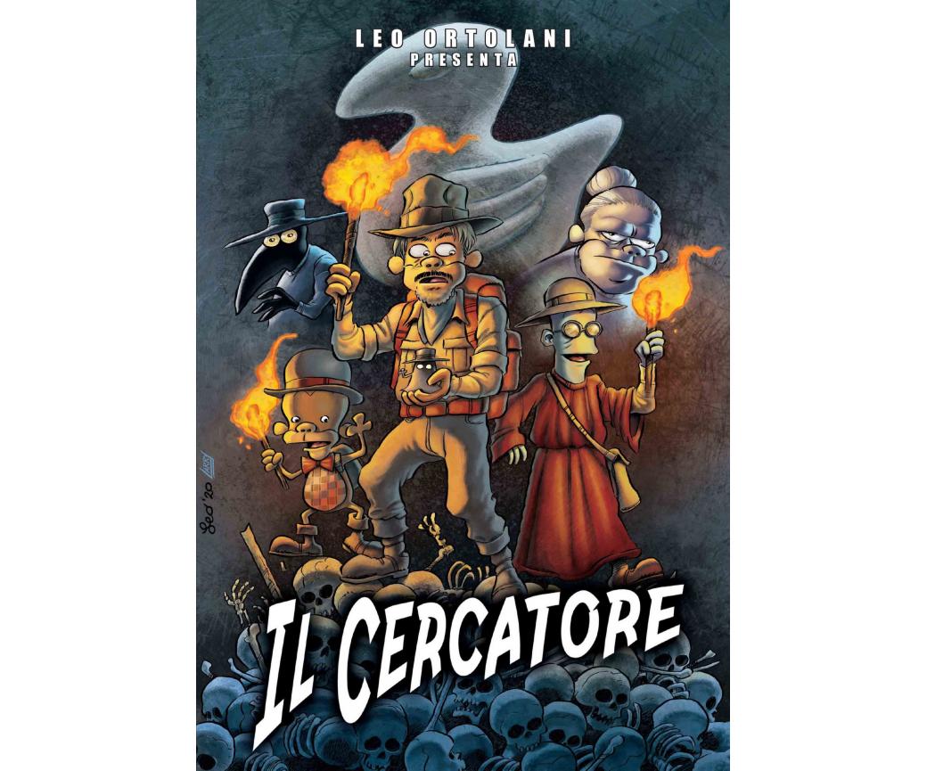 Il Cercatore – la nuova, avventurosa storia di Leo Ortolani